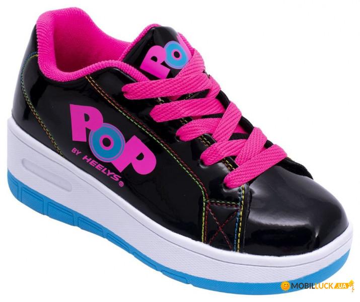 45ca7a40 Роликовые кроссовки Heelys POP Wave (с кнопкой) HES10291 (Черный, 30 ...