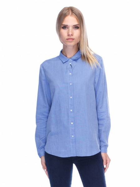 Рубашка Massimo Dutti р-р 38 Синий (5128901)