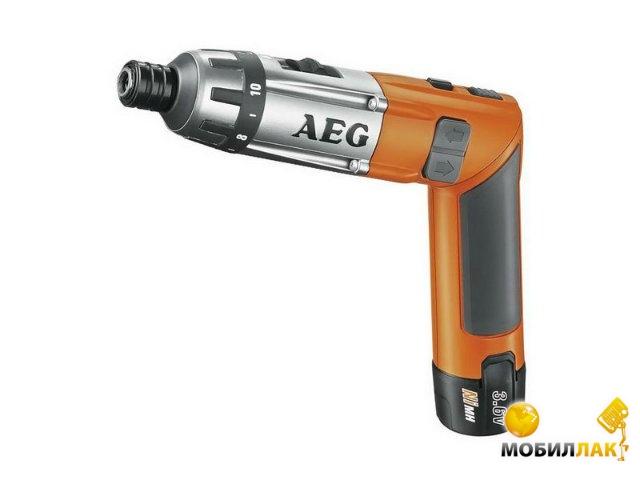 Аккумуляторная отвертка AEG SE3.6LI