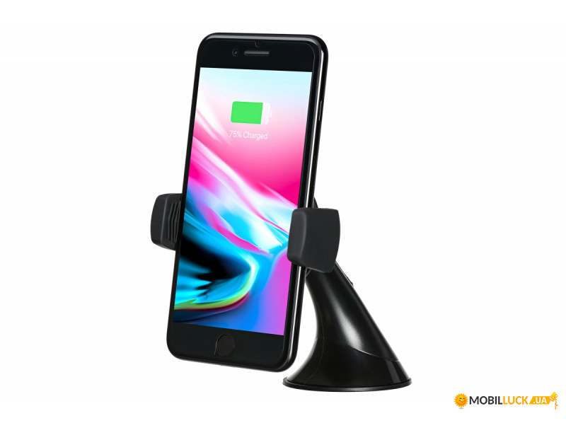 Беспроводное ЗУ 2E Car Mount Rotating Wireless Charger Black (2E-WCQ01-03)