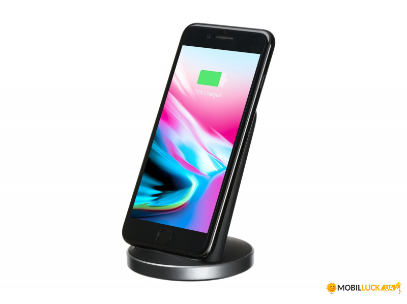 Беспроводное ЗУ 2E Wireless Charging Stand Black (2E-WCQ01-04)