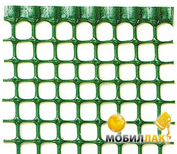 Декоративные ограждения Tenax Квадра 10 1 х 50 зеленый