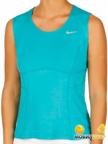 Майка женская Nike power Tank ocean-blue/grey (L)