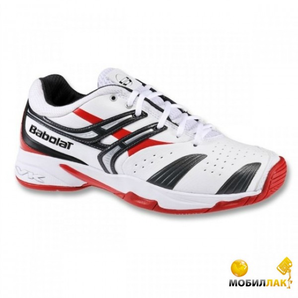 Кроссовки для тенниса Babolat Drive 2 (36UA 3.5US 22см) White/Red/Grey