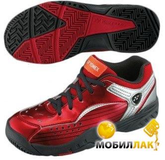 Кроссовки для тенниса Yonex SHT-308 JR (34UA 21.5см) Metallic Red