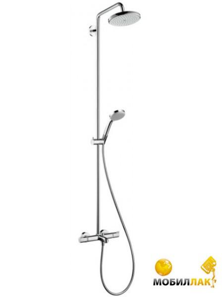 Душевой гарнитур Hansgrohe Croma 220 Showerpipe 27223000