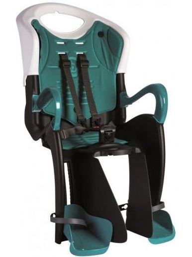 Велокресло детское Bellelli Tiger Relax B-Fix Black-White/Turquoise (SAD-72-23)