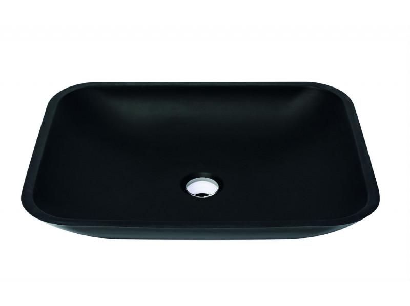 Раковина Terranit Marteen Quarzit Black (11153013)