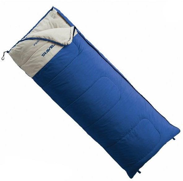 Спальный мешок Ferrino Travel 200 +5°C Blue Left