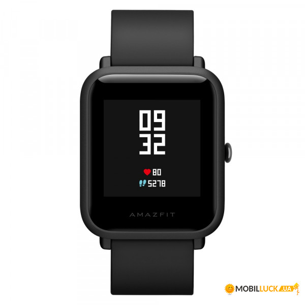 Смарт-часы Amazfit Bip Smartwatch Black (UYG4021RT)