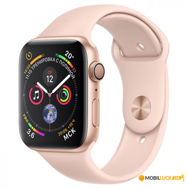 Смарт-часы Apple Watch Series 4 GPS 40mm Gold Alum (MU682)