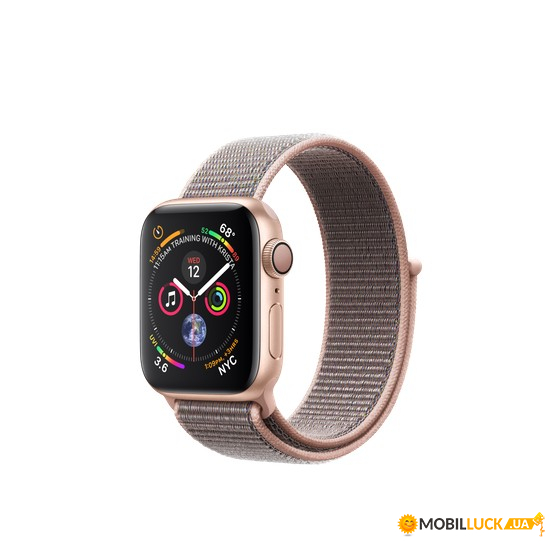 Смарт-часы Apple Watch Series 4 GPS 40mm Gold Alum (MU692)