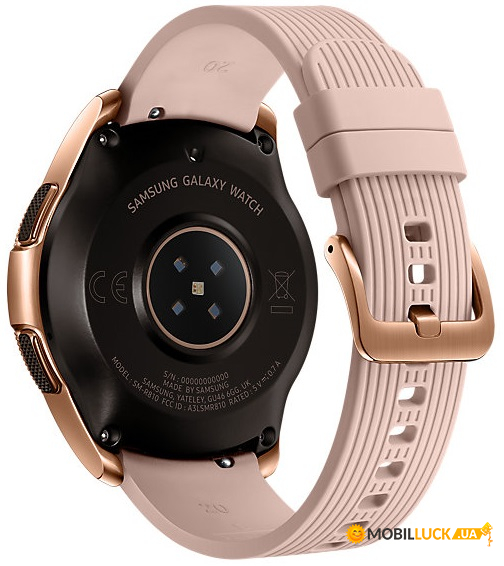 Смарт-часы Samsung Galaxy Watch 42mm Gold (SM-R810NZDASEK)