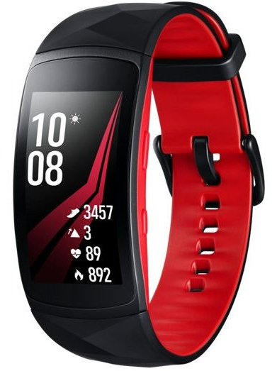 Смарт-часы Samsung Gear Fit 2 Pro Red Small (SM-R365NZRNSEK)