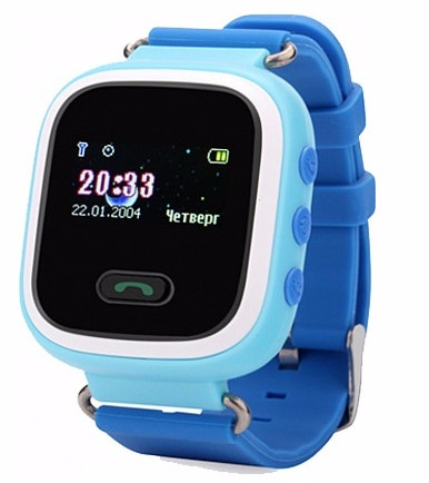 Смарт-часы UWatch Q60 Kid smart watch Blue