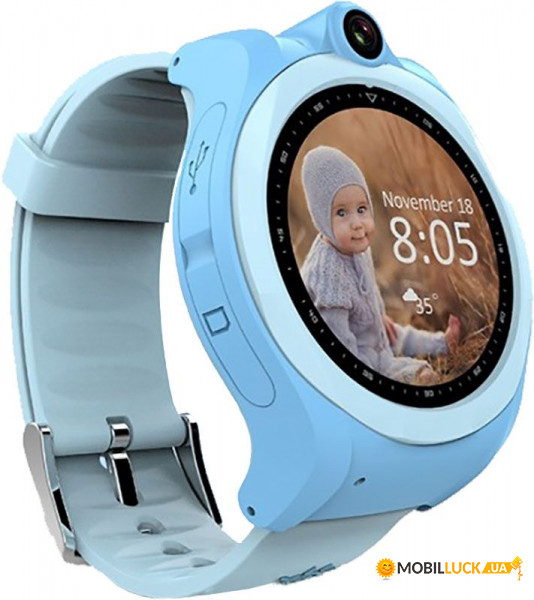 Смарт-часы UWatch Q610 Kid Blue