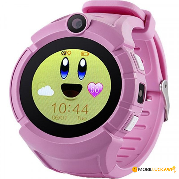 Смарт-часы UWatch Q610 Kid Pink