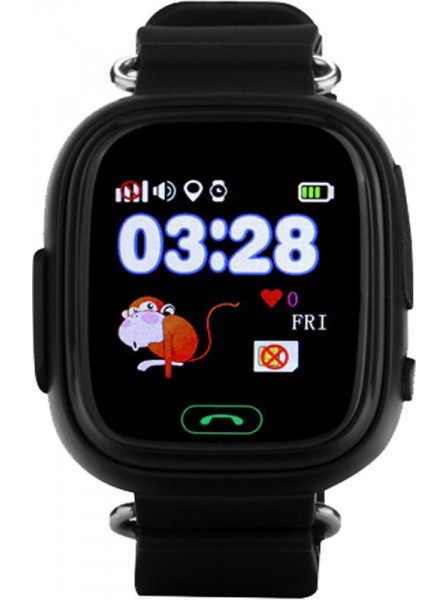 Смарт-часы UWatch Q90 Kid smart watch Black