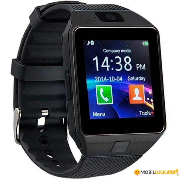 Смарт-часы с сим-картой Smart DZ09 UWatch 5051 Black