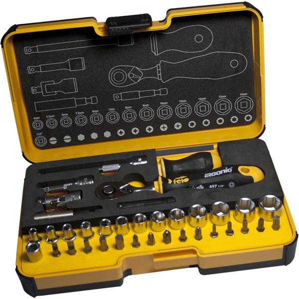 Набор головок и бит Felo R-GO XL 1/8-9/16 мм 36 шт (P5783656)