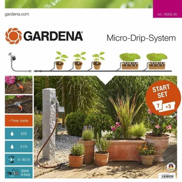 Базовый комплект с таймером Gardena EasyControl (13002-20.000.00)