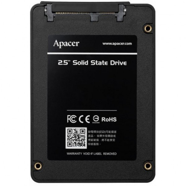 SSD Накопитель Apacer 120GB 2.5 (AP120GAS340G-1)