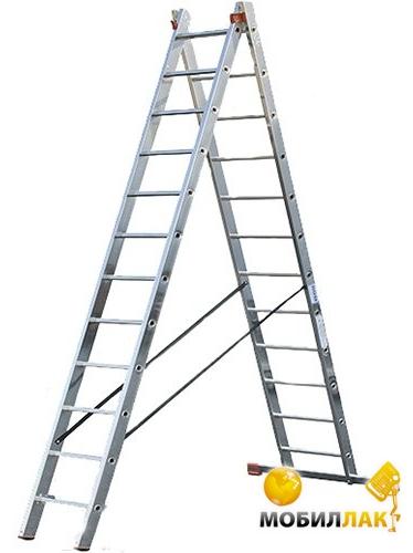 Лестница 2-х секционная 12 ступеней Triton tools (02-130)