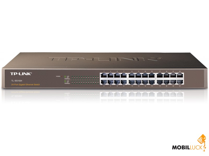 Коммутатор TP-Link TL-SG1024 24-port Gigabit