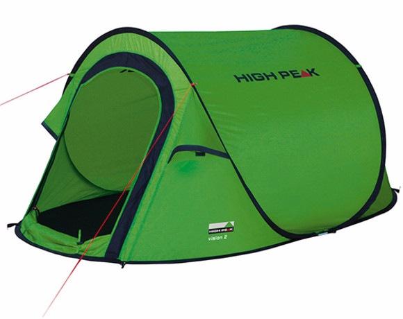 Палатка High Peak Vision 2 Green