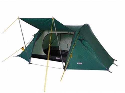 Палатка Wechsel Pioneer 2 Unlimited Green + коврик Mola (923795)
