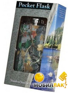 Фляга Riversedge CB Transition Camo Flask камуфляж 265мл (998)
