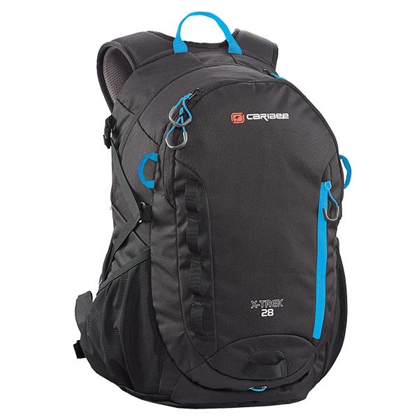 Рюкзак туристический Caribee X-Trek 28 Black/Ice Blue (924053)