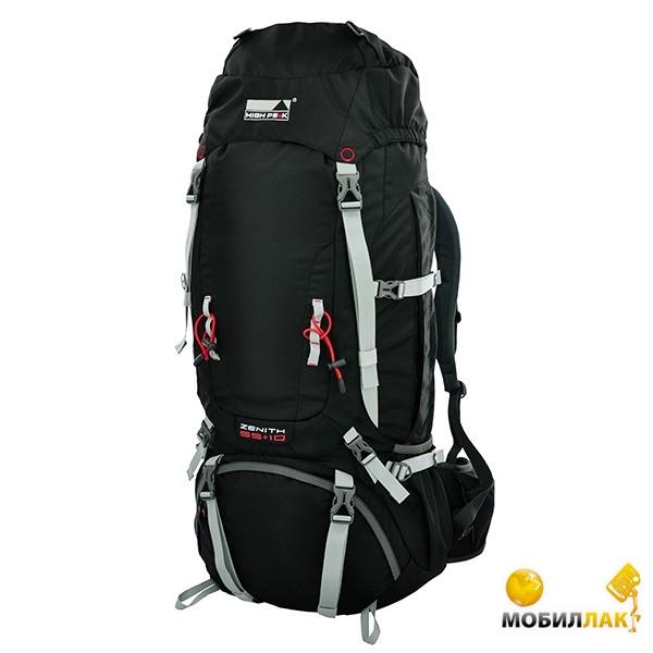 Рюкзак High Peak Zenith 55+10 Black