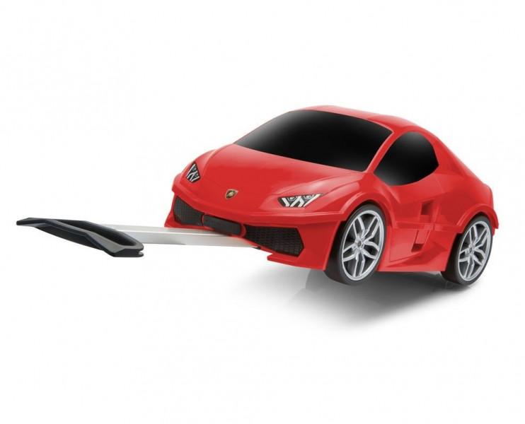 Чемодан-машинка Ridaz Lamborghini Huracan Red (91002W-RED)