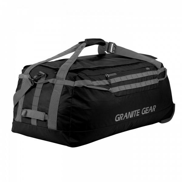 Сумка дорожная на колесах Granite Gear Wheeled Packable Duffel 145 Black/Flint (924425)