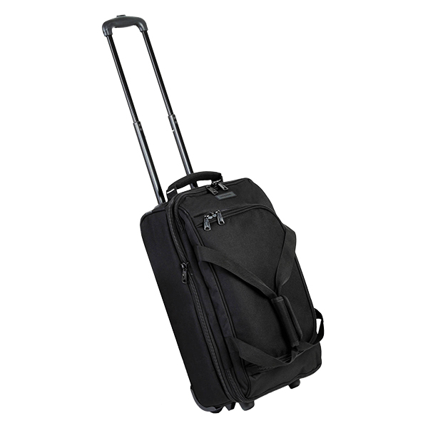 Сумка дорожная Members Expandable Wheelbag Small 33/42 Black