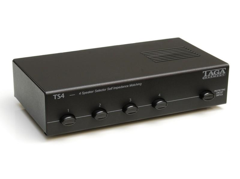 Переключатель АС Taga Harmony TS-4 Speaker Selector Black