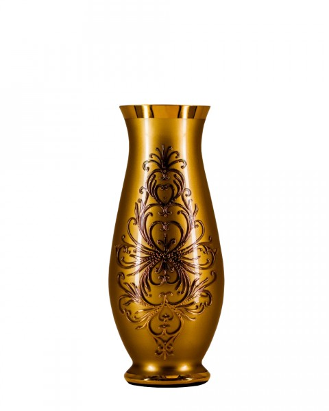 Ваза Bohemia Edera Gold 350 мм (17-350-039)