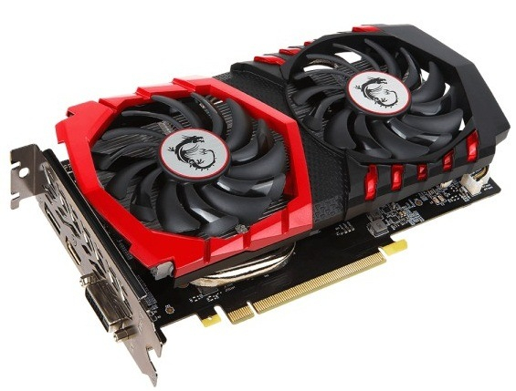 Видеокарта MSI GeForce GTX 1050Ti GAMING X 4G