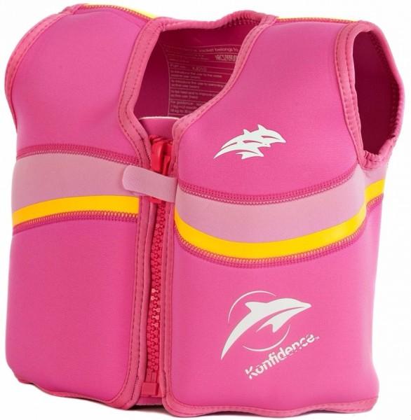 Плавательный жилет Konfidence Original Jacket Fuchsia Pink 4-5 г (KJD10-05)