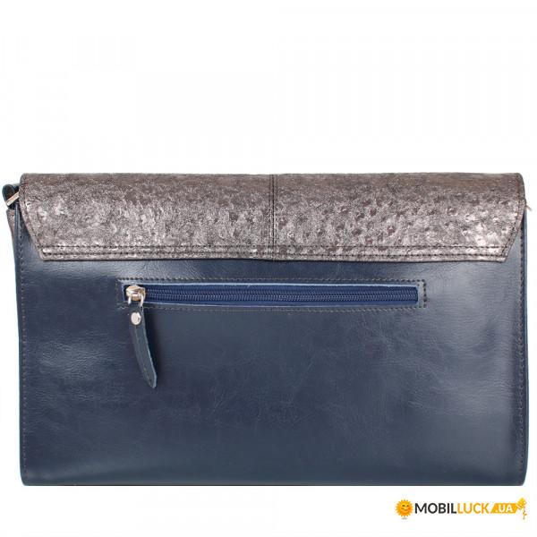 1cda3efba186 Женская сумка-клатч Laskara LK-DD220B-blue-grafite. Купить Женская ...