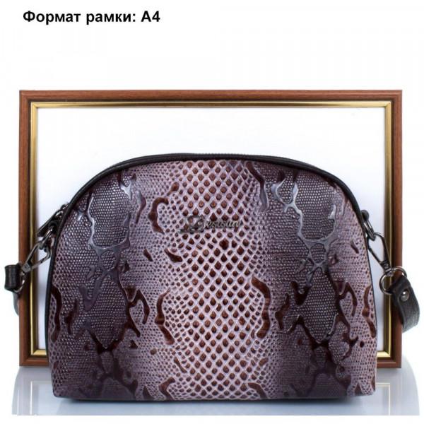 62bf9654bb52 Видеообзор и фото Женская кожаная сумка Desisan SHI3136-180. Купить ...