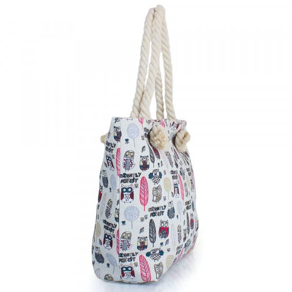 3517aa42be39 Женская пляжная тканевая сумка Eterno DCA-211-01. Купить Женская ...
