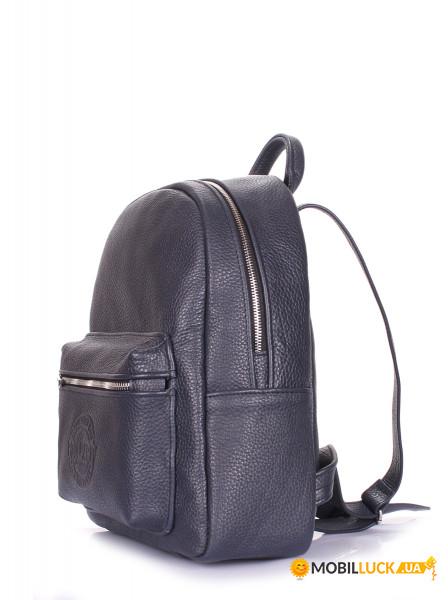 40cfda5ee331 Рюкзак женский кожаный Poolparty Xs Синий (xs-bckpck-leather-blue ...