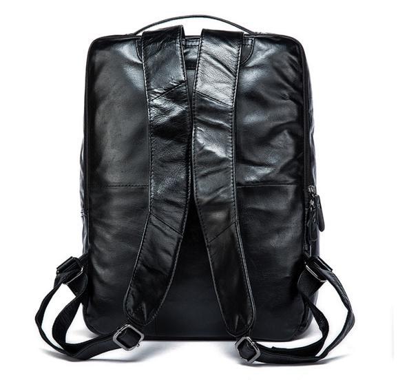 7605c720c935 Видеообзор и фото Рюкзак кожаный Tiding Bag 7280A. Купить Рюкзак ...