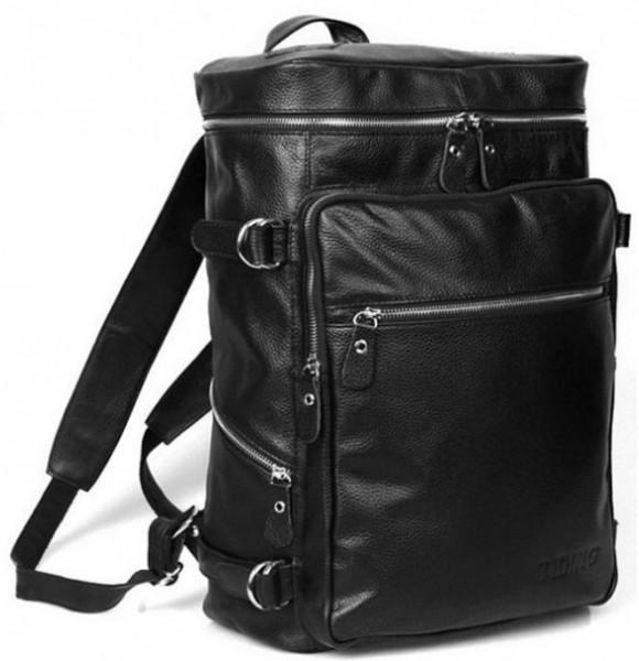 Рюкзак кожаный Tiding Bag T3035