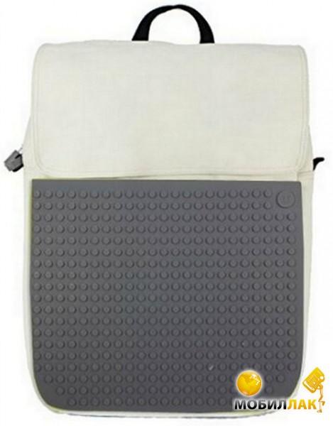 Рюкзак Upixel Fliplid, бело-серый (WY-A005V)