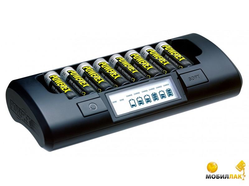 Зарядное устройство Powerex MH-C800S-E 8 AA/AAA LCD Euro
