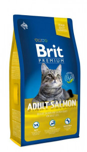Корм для котов Brit Premium Cat Adult Salmon Лосось 8 kg (170362)