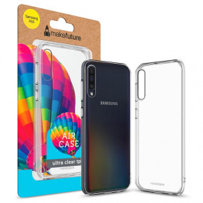 Чехол-накладка MakeFuture Air Samsung Galaxy A50 SM-A505 Clear (MCA-SA505)